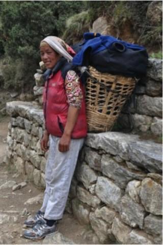 고산지대에 적응한 티베트인 - Cynthia Beall 제공